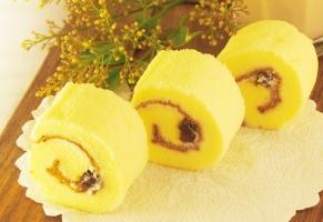 Steamed cake Swiss Roll